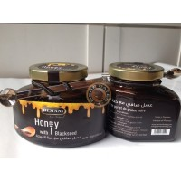 Hemani Pure Mountain Honey With Black Seed/Madu Habatussauda. 250g/btl