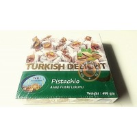 Promo!Tatli,Turkish Delight With Pistachio. 400g/box